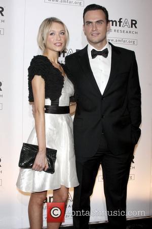 Katrina Bowden and Cheyenne Jackson amfAR New York Gala to Kick Off Fall 2009 Fashion Week at Cipriani on 42nd...