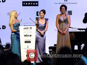 Donatella Versace and Michelle Yeoh 2009 Cannes International Film Festival - Day 9 amfAR Cinema Against AIDS 2009 cocktail party...