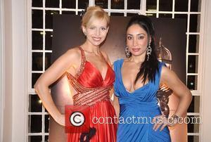 Anneka Svenska and Guest Ann Summers: Enchantment Collection Launch Party at The Baccarat Room - Inside London, England - 01.12.08