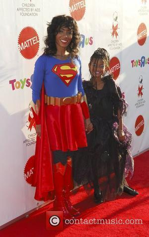 Jada Pinkett Smith and daughter Willow Smith AIDS Foundation's 15th Annual Dream Halloween Event Los Angeles, California - 25.10.08