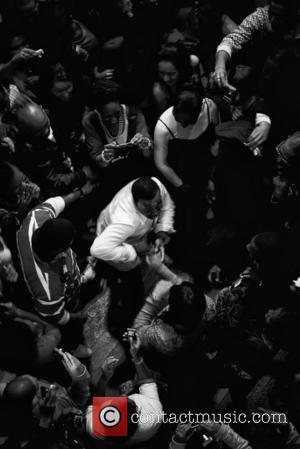 American singer-songwriter Anthony Hamilton performing live at Indigo at O2 Arena London, England - 02.04.09