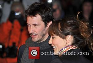 Keanu Reeves and guest The Times BFI London Film Festival: Anvil! The Story Of Anvil - screening held at the...