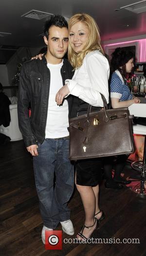 Ben Adams and Nicole Sconciaforni Aquum Restaurant launch party London, England - 11.03.09