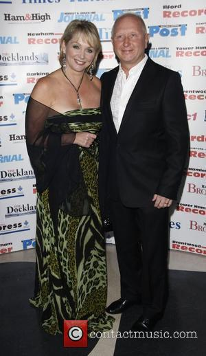 Cheryl Baker and Guest The Archant London Press Ball held at the Brewery -arrivals  London, England - 15.11.08