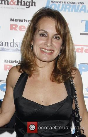 Jay Aston The Archant London Press Ball held at the Brewery -arrivals  London, England - 15.11.08