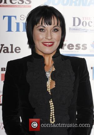 Jessie Wallace The Archant London Press Ball held at the Brewery -arrivals  London, England - 15.11.08
