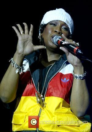 Missy Elliott performing live at the Hammersmith Apollo London, England - 26.11.05