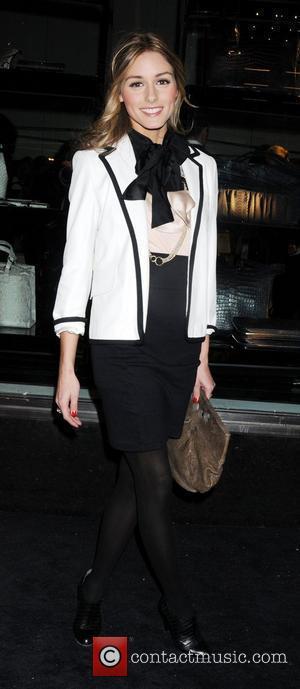 Olivia Palermo New Armani store opening on 5th Avenue New York City, USA - 17.02.09