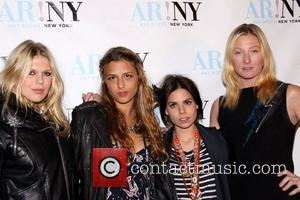 Alexandra Richards, Charlotte Ronson, Ally Hilfiger and Maggie Rizer ART ROCKS! New York benefit for the Naomi Berrie Diabetes Center...