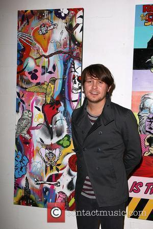 Mark Owen Artists 11 exhibition for The Prostate Cancer Charity at The Old Truman Brewery London, England - 11.02.09