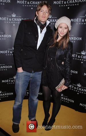 Kris Marshall and Kelly Eastwood  Atelier Moet boutique launch at New Bond Street London, England - 03.12.08