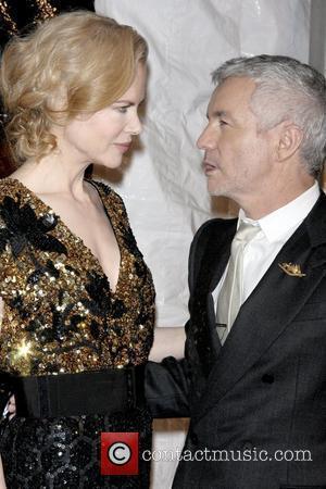 Nicole Kidman and Baz Luhrmann