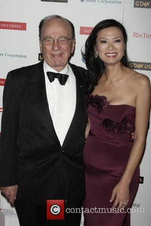 Rupert Murdoch and his wife Wendi Deng G'day USA Week 2009 Jacob's Creek New York Black Tie Gala at the...
