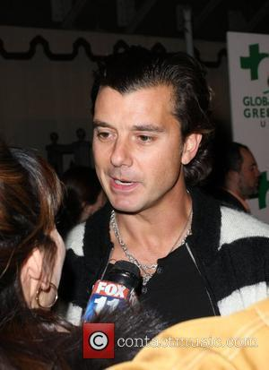 Gavin Rossdale Global Green USA's 6th Annual Pre-Oscar Party held at Avalon - Outside Arrivals Los Angeles, Caalifornia - 19.02.09