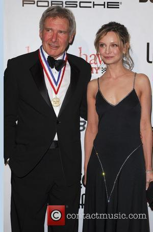 Calista Flockhart and Harrison Ford 6th Annual 'Living Legends of Aviation Awards' honoring Harrison Ford held at the Beverly Hilton...