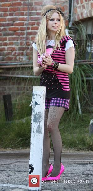 Avril Lavigne and Johnny Depp
