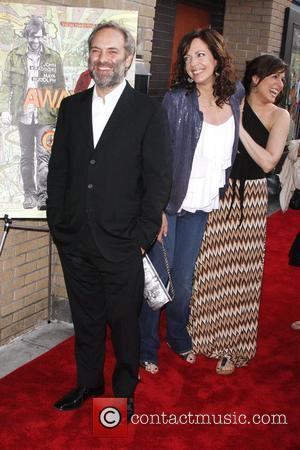 Sam Mendes, Allison Lanney, Melanie Lynskey New York premiere of 'Away We Go' at Sunshine theatre New York City, USA...