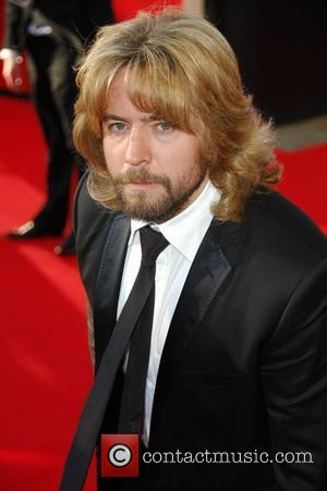 Justin Lee Collins,  British Academy Television Awards held at the Royal Festival Hall - Arrivals. London, England - 26.04.09...