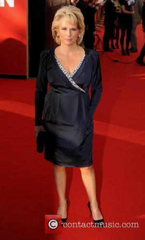 Jennifer Saunders British Academy Television Awards held at the  Royal Festival Hall - Arrivals. London, England - 26.04.09