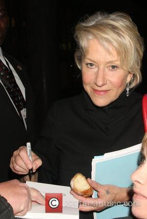 Mirren Shuns Party Food For Supermarket Snack