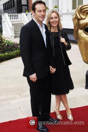 Emma Hewitt; Jason Isaacs British Academy Television Awards 2009 (BAFTA) nomination party held at the Mandarin Oriental Hotel London, England...