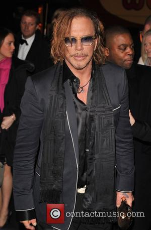 Mickey Rourke, Grosvenor House, BAFTA