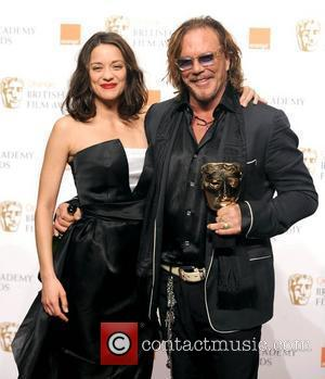 Marion Cotillard and Mickey Rourke