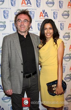 Danny Boyle and Freida Pinto