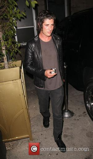 Brandon Davis leaving Bar Delux in Hollywood with friends Los Angeles, California - 30.04.09