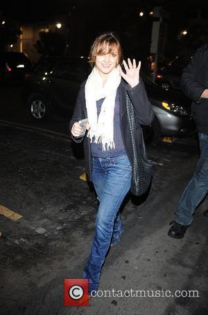 Rachael Leigh Cook outside the Bardot Bar Los Angeles, California - 01.12.08