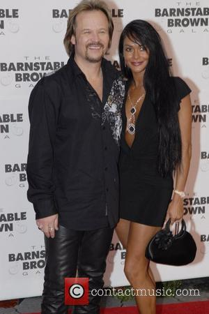 Travis Tritt and Theresa Tritt  Barnstable Brown Party Celebrating The 135th Kentucky Derby at Barnstable Brown House Louisville, Kentucky...