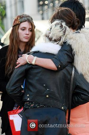 Pixie Geldof and Mischa Barton at the Hawley Arms pub, after spending the day with friends in Primrose Hill London,...