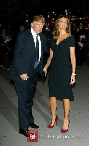 Donald Trump and Melania Trump MoMa Film Benefit Gala Honoring Baz Luhrmann New York City, USA - 10.11.08