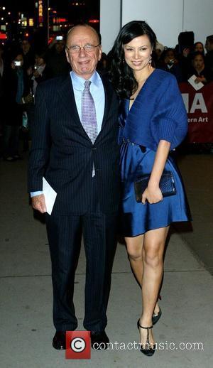 Rupert Murdoch and Wendy Deng