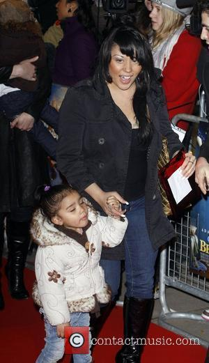 Mutya Buena and Daughter