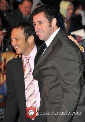 Rob Schneider and Adam Sandler