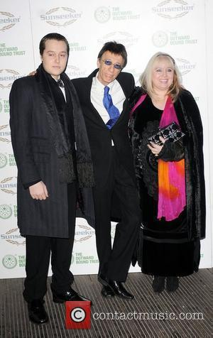 Robin Gibb and wife Dwina Gibb A celebration of The Bee Gees at Battersea Evolution benefiting the Outward Bound Trust...