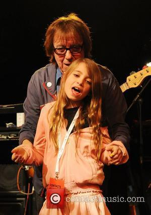 Bill Wyman and daughter Matilda A celebration of The Bee Gees at Battersea Evolution benefiting the Outward Bound Trust -...