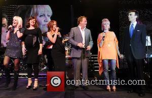Valeriya, Bee Gees, Natasha Hamilton and Robin Gibb