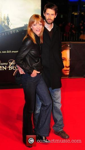 Heike Makatsch and guest  at the German premiere of Der seltsame Fall des Benjamin Button (The Curios Case Of...