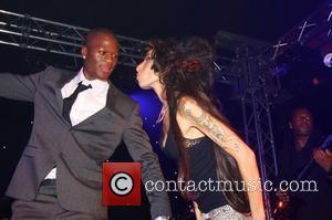 Amy Winehouse The 'End of Summer Ball' charity event in Berkeley Square - Inside London, England - 25.09.08