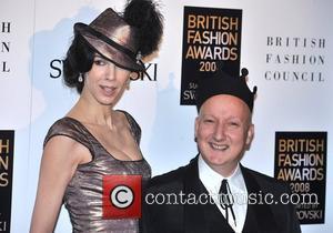 L'Wren Scott and Steven Jones   British Fashion Awards held at Lawrence Hall  London, England - 25.11.08