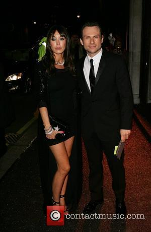 Tamara Mellon & Christian Slater British Fashion Awards - outside arrivals held at Lawrence Hall London, England - 25.11.08