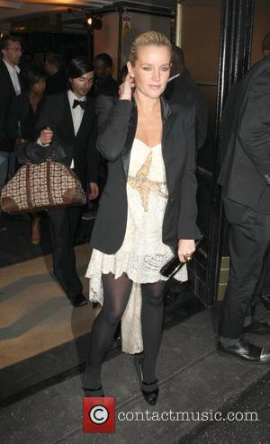 Davinia Taylor British Fashion Awards - outside arrivals held at Lawrence Hall London, England - 25.11.08