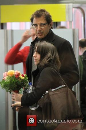 Jeff Goldblum flying into Tegel Airport from New York for the Berlin Film Festival (Berlinale) Berlin, Germany - 07.02.09