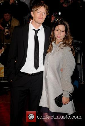 Kris Marshall and guest The Times BFI London Film Festival - Screening of 'Easy Virtue' - gala screening held at...