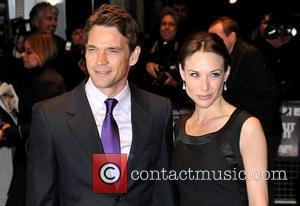 Claire Forlani, Odeon West End, Dougray Scott
