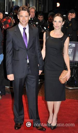 Dougray Scott and Claire Forlani The Times BFI London Film Festival: New Town Killers - official screening held at the...
