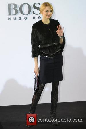 Eva Padberg Boss Black fashion show by Hugo Boss at Botanischer Garten - Arrivals Fashion Week Autumn/Winter 2009 Berlin, Germany...