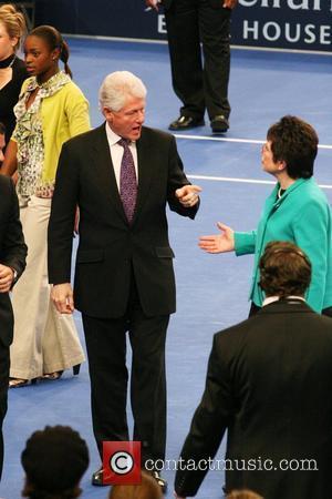 Billie Jean King, Madison Square Garden, Bill Clinton